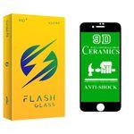 محافظ صفحه نمایش فلش مدل +HD مناسب برای گوشی موبایل اپل IPHONE 6