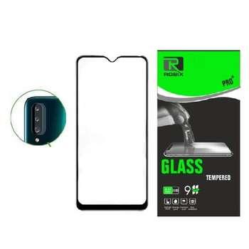 محافظ صفحه نمایش روبیکس مدل FL A20sمناسب برای گوشی موبایل سامسونگ Galaxy A20s به همراه محافظ لنز دوربین
