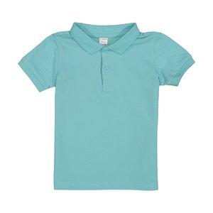 پولوشرت پسرانه نوزادی ال سی وایکیکی مدل 0SO053Z1-BLUE