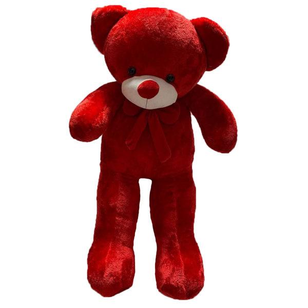 عروسگ طرح خرس پاپیونی ارتفاع 100 سانتی متر