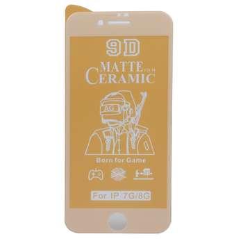 محافظ صفحه نمایش سرامیکی مات مدل CRA-I7 مناسب برای گوشی موبایل اپل iphone 7 / 8