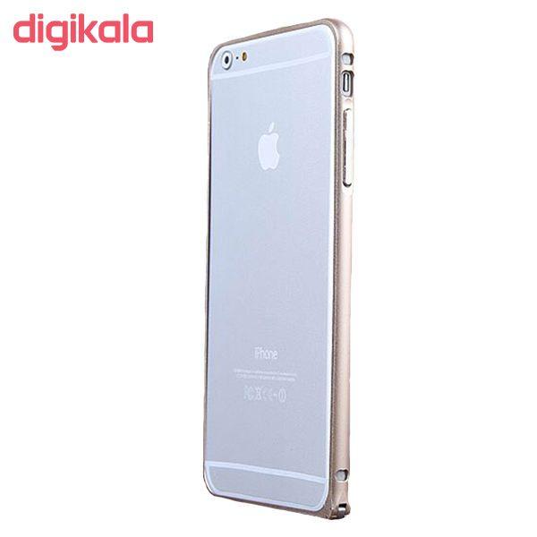 بامپر مدل LF156 مناسب برای گوشی موبایل اپل iPhone 6/6S به همراه محافظ پشت گوشی main 1 1