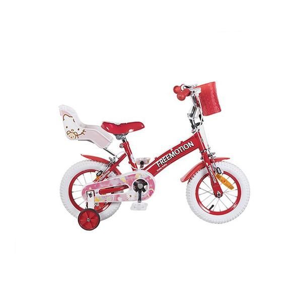 دوچرخه شهری فری موشن مدل Hello Kitty سایز 12 - سایز فریم 17