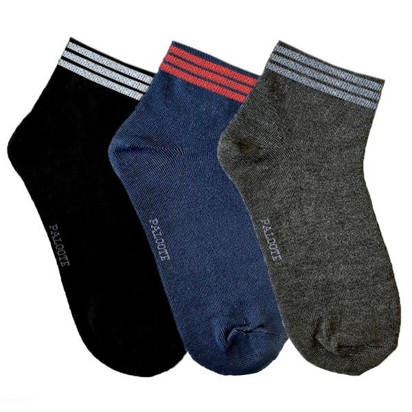 جوراب مردانه پالوته مدل PM-Lii مجموعه سه عددی