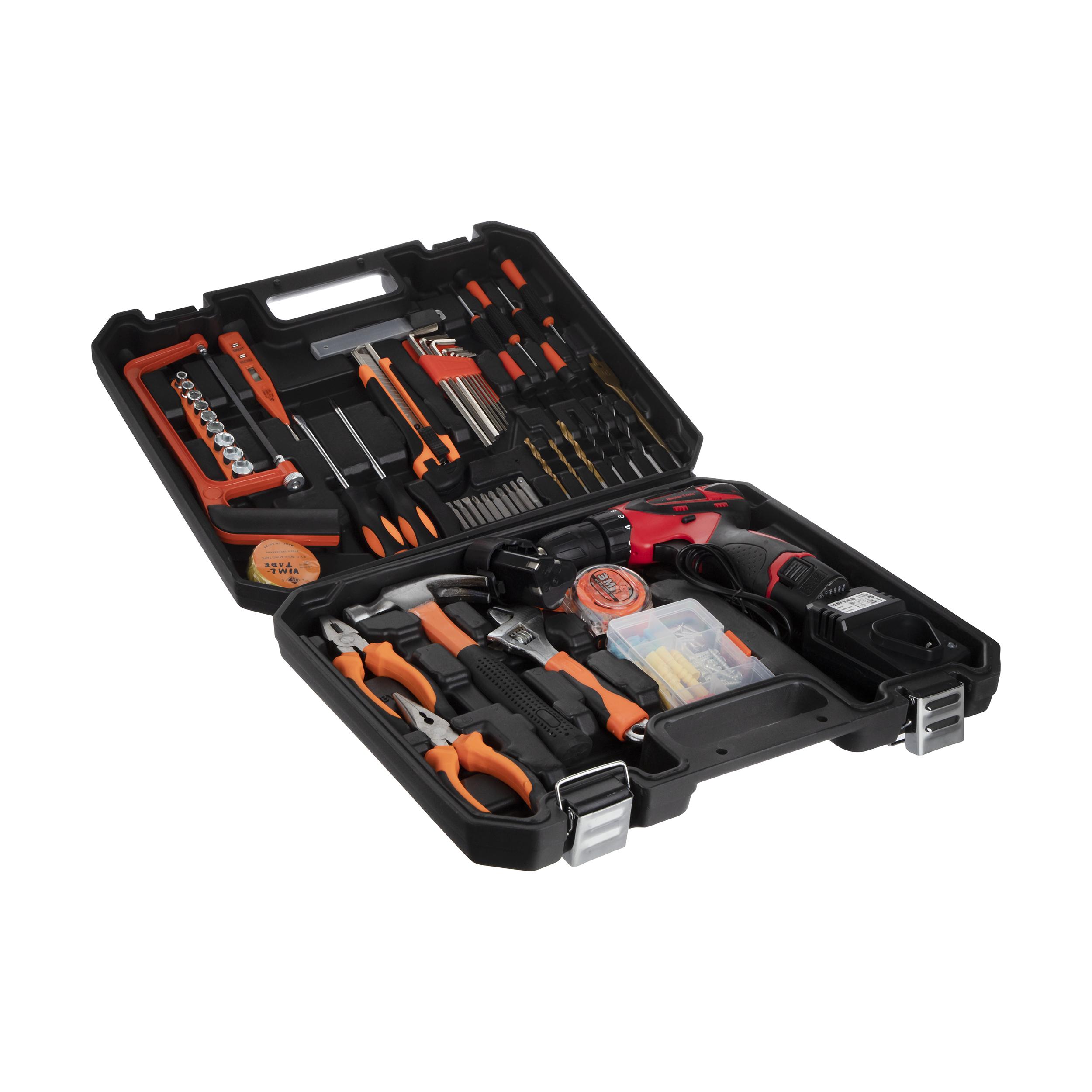 مجموعه 130 عددی ابزار مستر تولز کد 6013