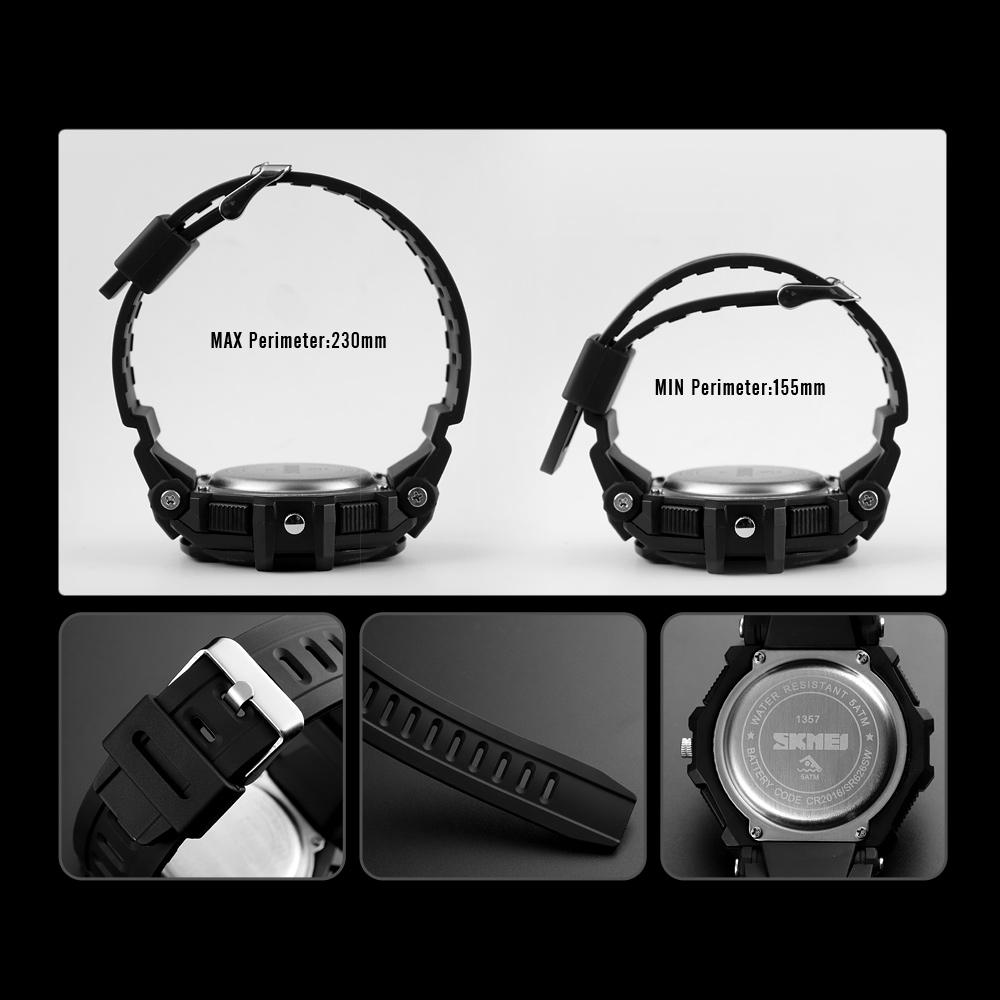 ساعت مچی دیجیتال مردانه اسکمی مدل 1357 BL