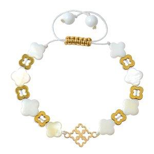 دستبند طلا 18 عیار دخترانه کرابو مدل Krd1020