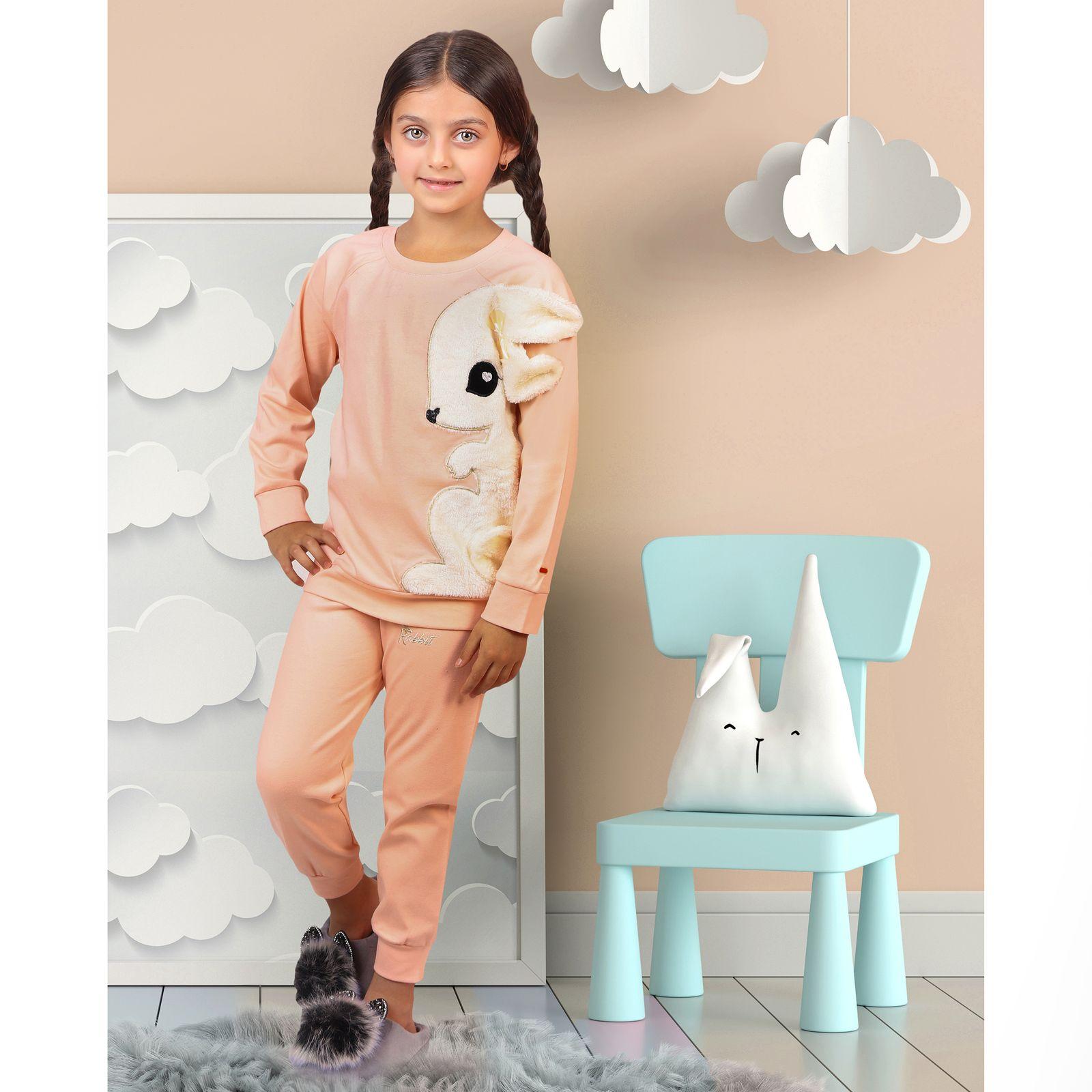 ست تی شرت و شلوار دخترانه مادر مدل 302-80 main 1 12