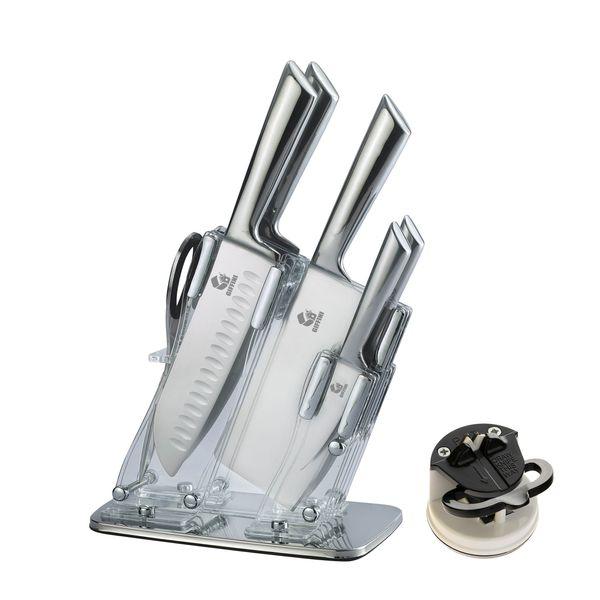 سرویس چاقو آشپزخانه 8 پارچه جی فی نی کد N.G.M.08