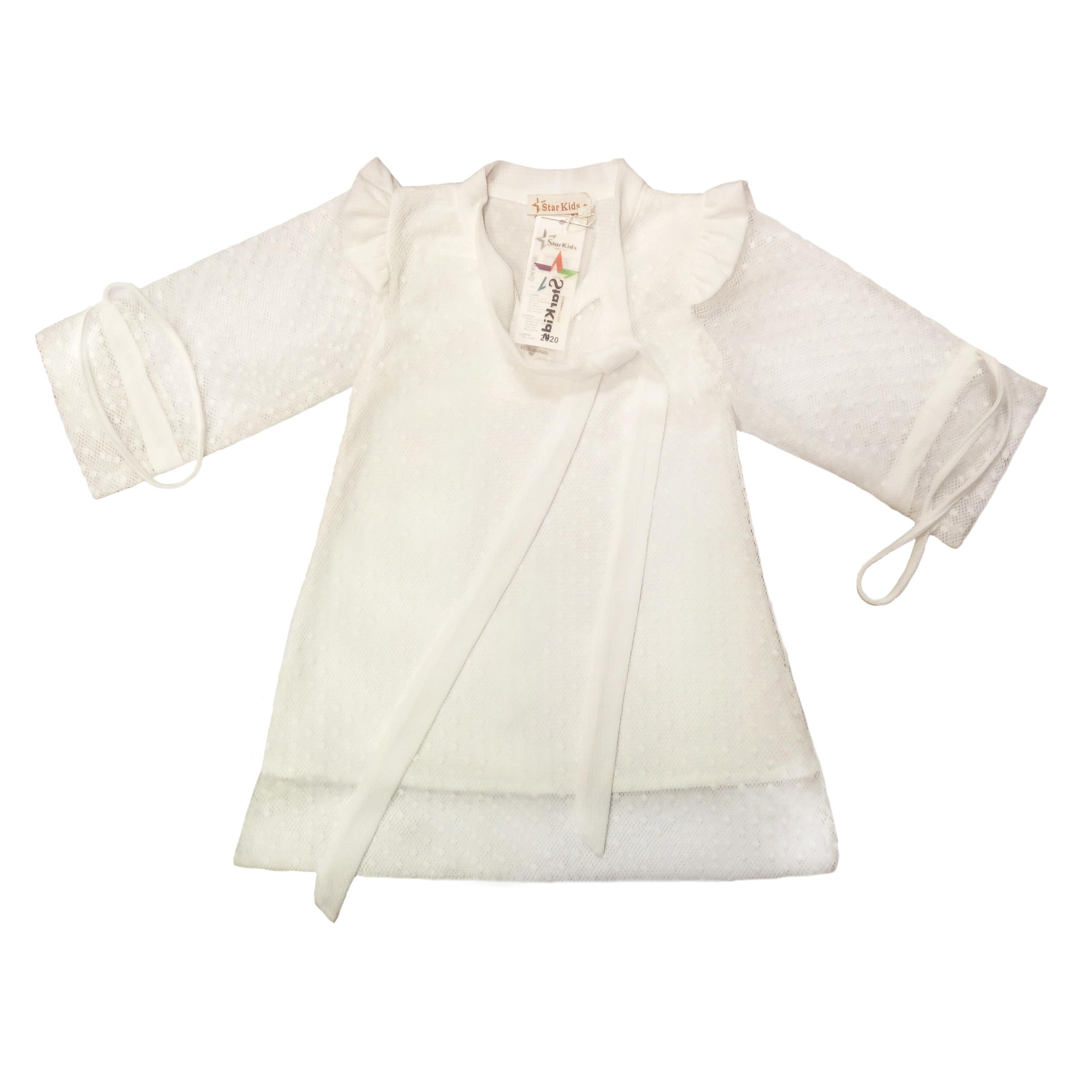 پیراهن دخترانه استارکیدز کد W001107
