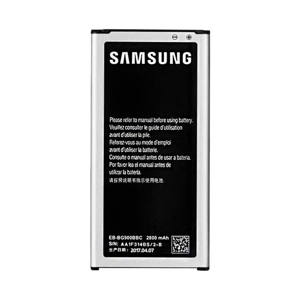باتری موبایل مدل EB-BG900BBC با ظرفیت 2800 میلی آمپر ساعت مناسب برای گوشی موبایل سامسونگ galaxyS5                     غیر اصل