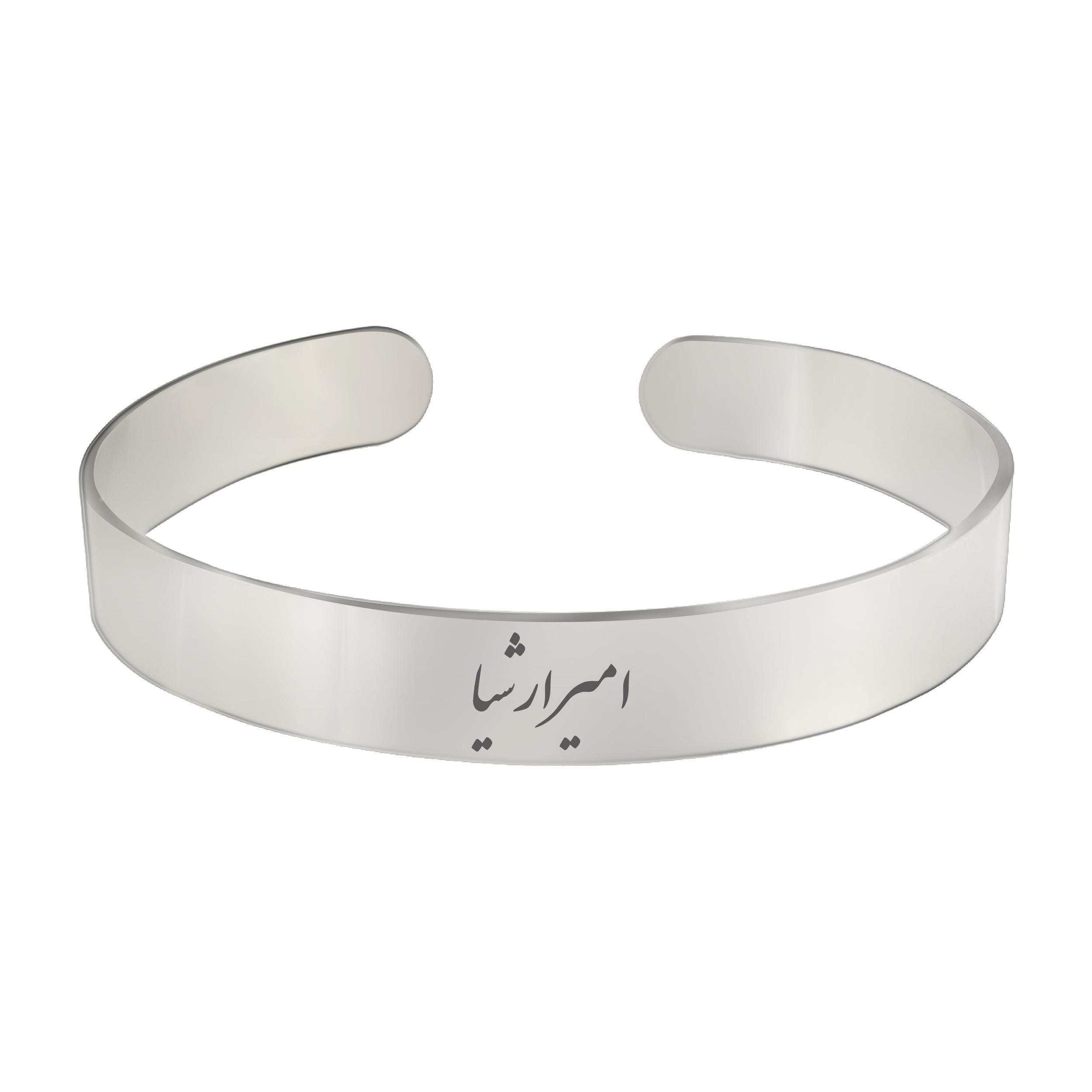 دستبند مردانه ترمه ۱ مدل امیرارشیا کد Bns 409