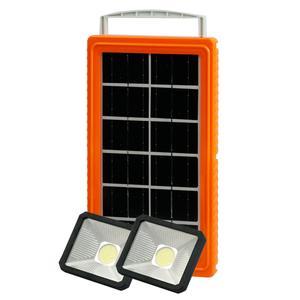 سیستم روشنایی و پاوربانک خورشیدی یی جیمدلYJ-7790 مجموعه سه عددی