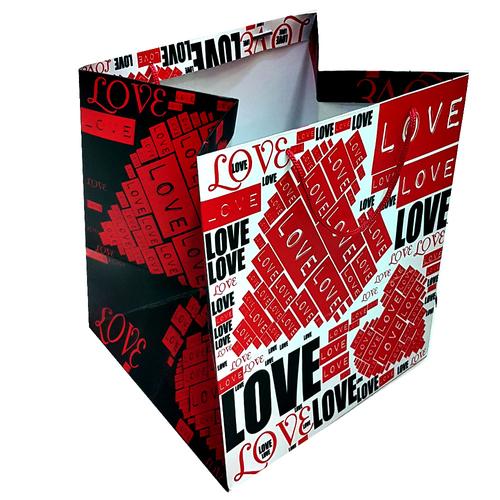 پاکت هدیه طرح قلب کد tm.s.13