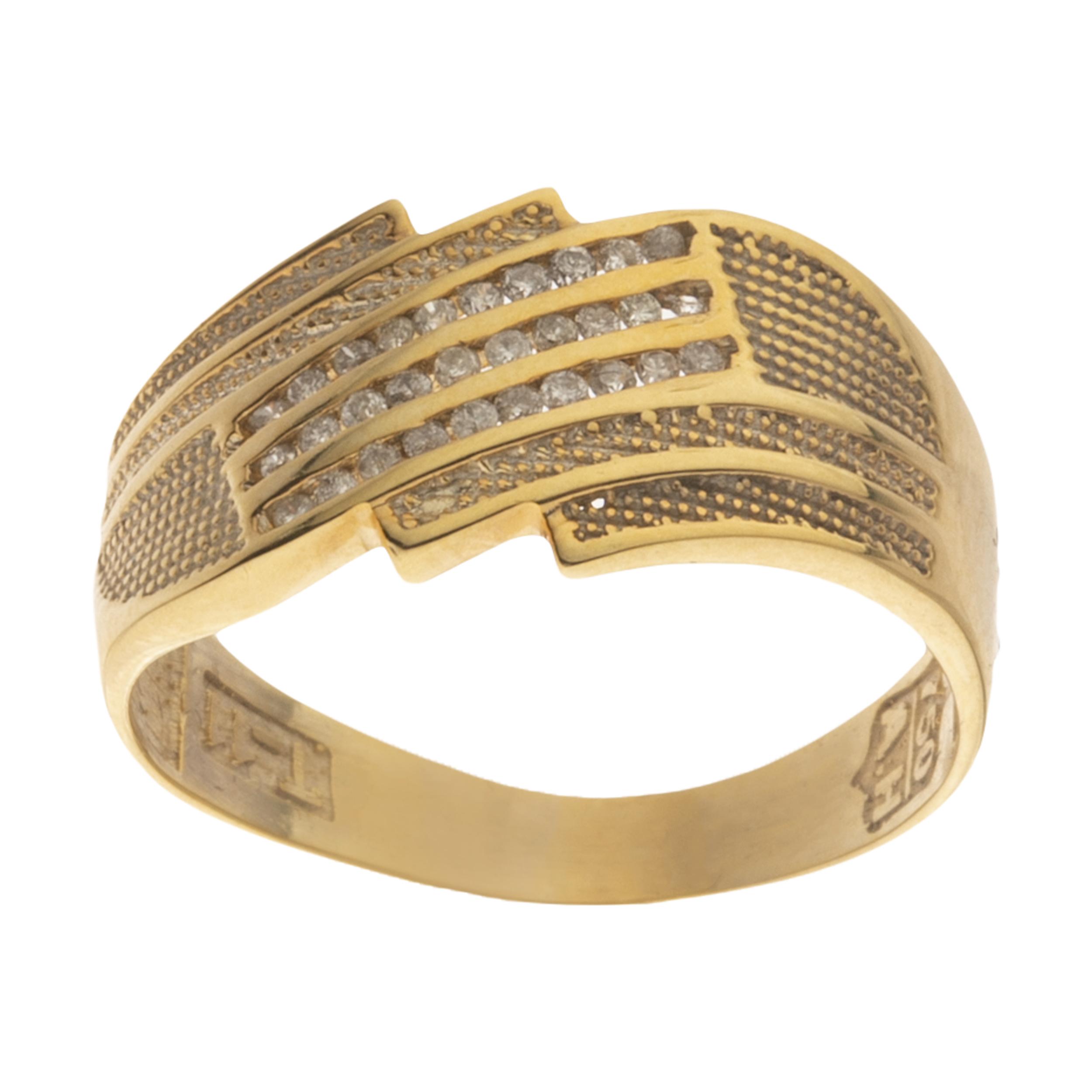 انگشتر طلا 18 عیار زنانه مایا ماهک مدل SR0448