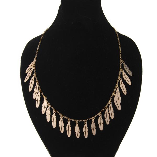 گردنبند طلا 18 عیار زنانه کد 67096