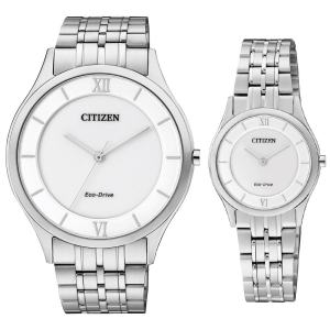 ست ساعت مچی عقربه ای زنانه و مردانه سیتی زن مدل AR0070-51A EG3220-58A