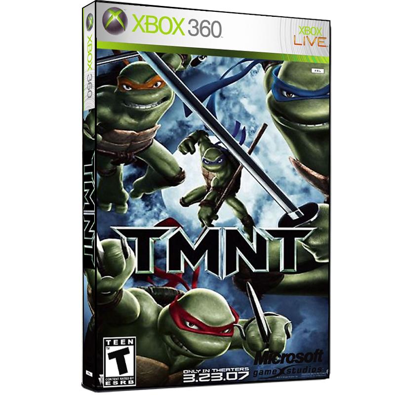 بررسی و {خرید با تخفیف}                                     بازی Teenage Mutant Ninja Turtles مخصوص Xbox 360                              اصل