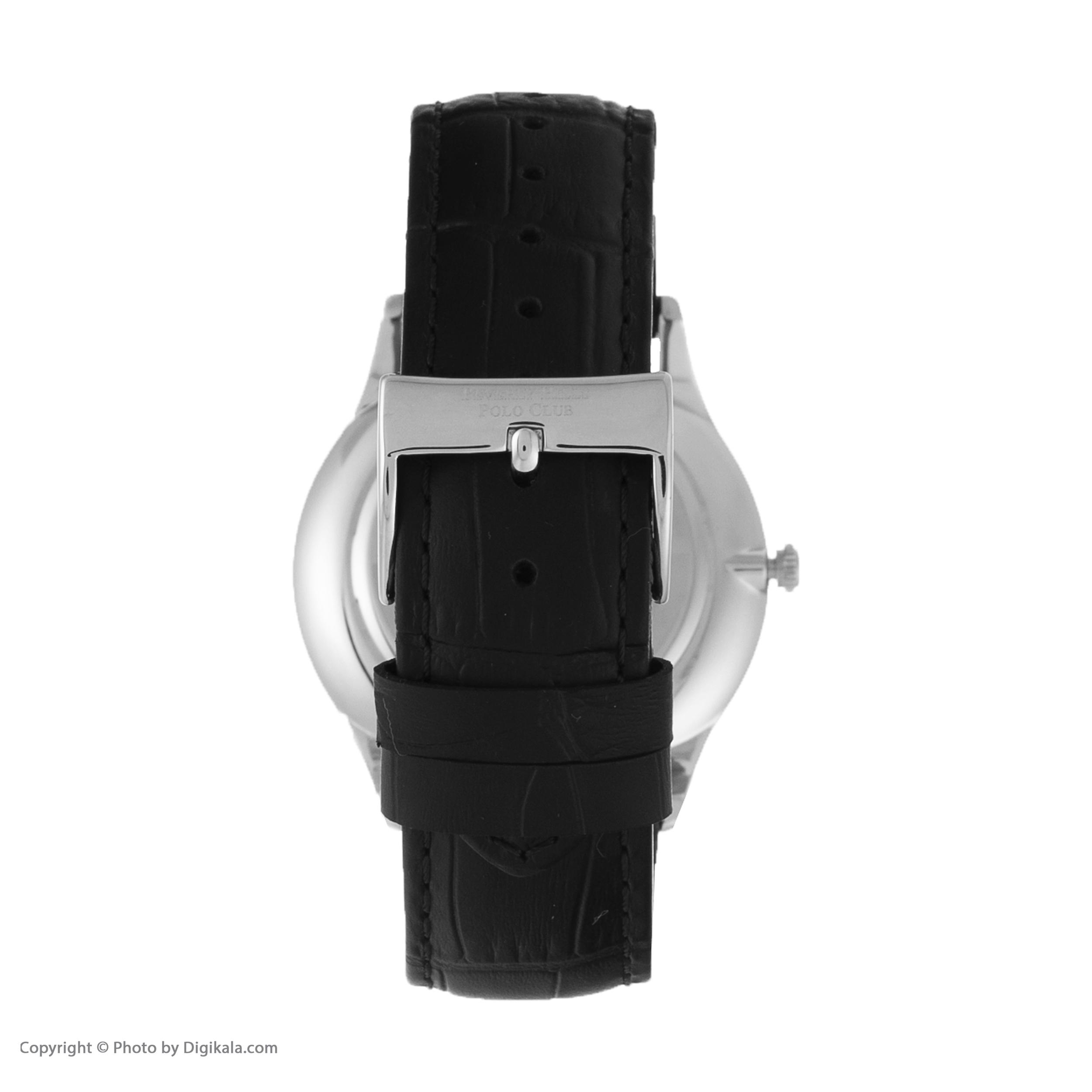 ساعت مچی عقربهای مردانه بورلی هیلز پولو کلاب مدل BP3045X.351