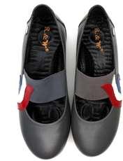 کفش روزمره زنانه آر اند دبلیو مدل 982 رنگ طوسی -  - 6