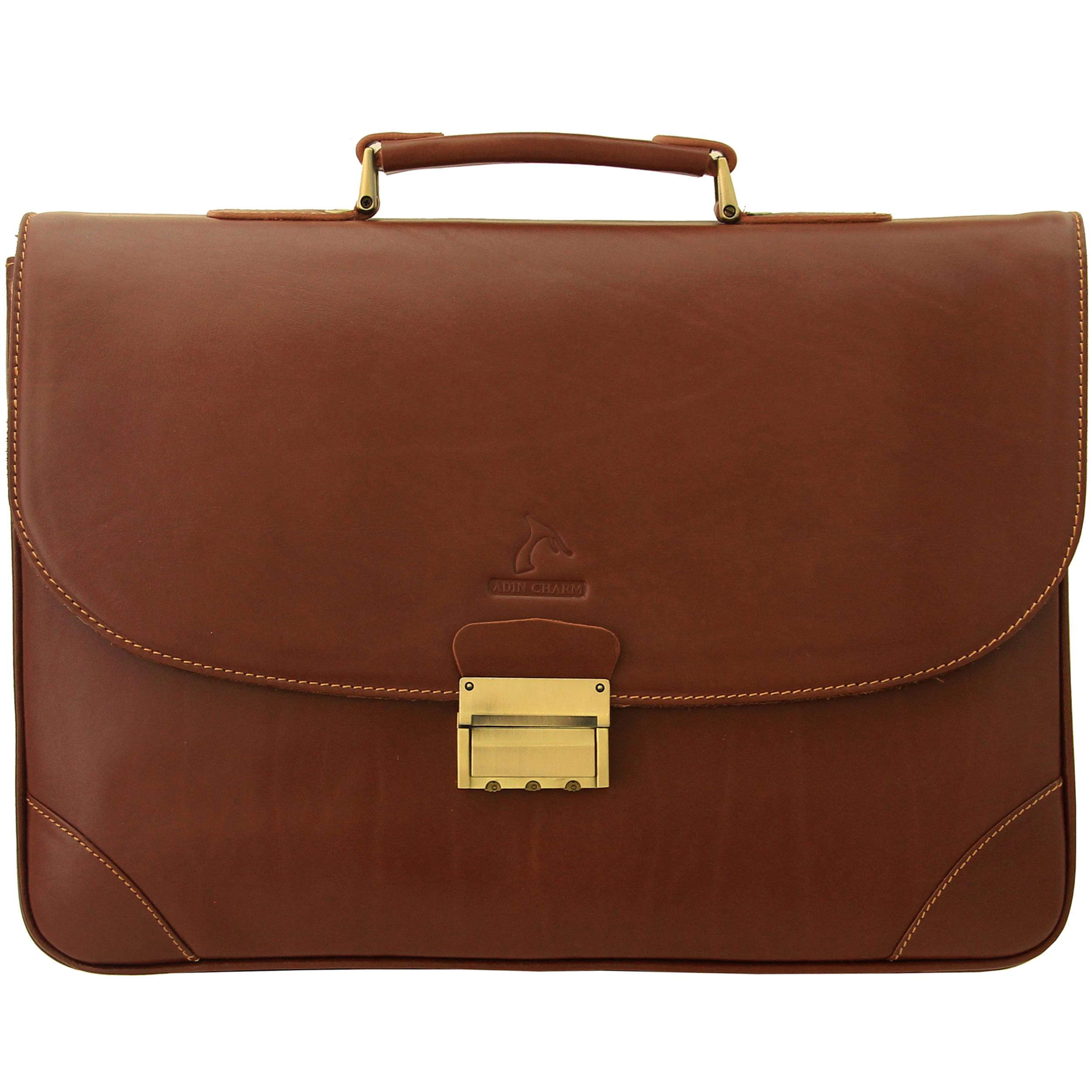 کیف اداری مردانه آدین چرم مدل DL60