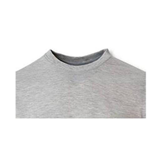 تیشرت آستین کوتاه مردانه کد M24 رنگ طوسی
