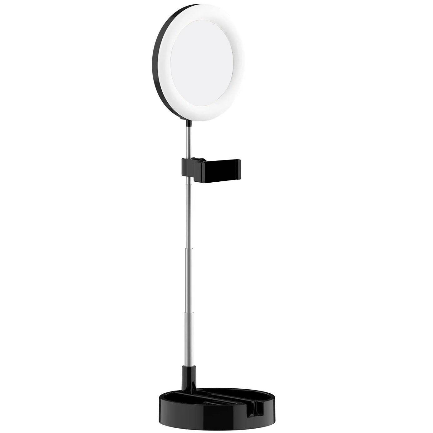 رینگ لایت آرایشی و آینه مدل G3