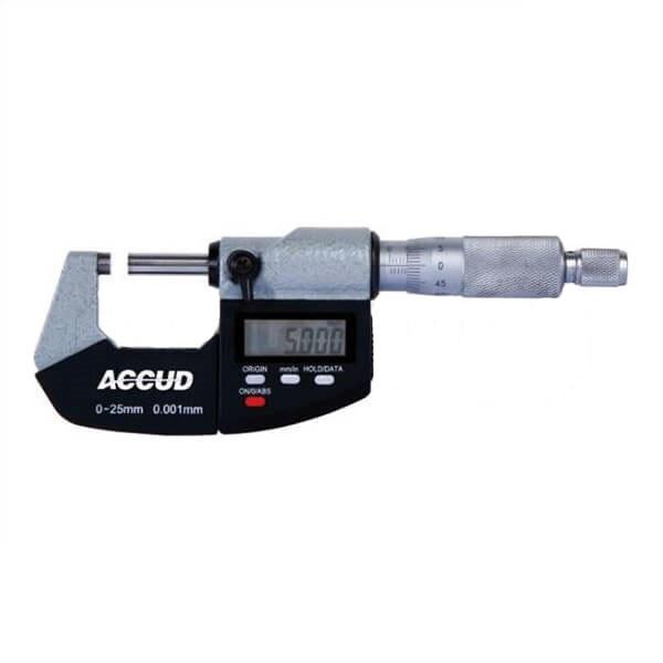 میکرومتر دیجیتال آکاد مدل 01-002-311 گستره 50 - 25 میلیمتر