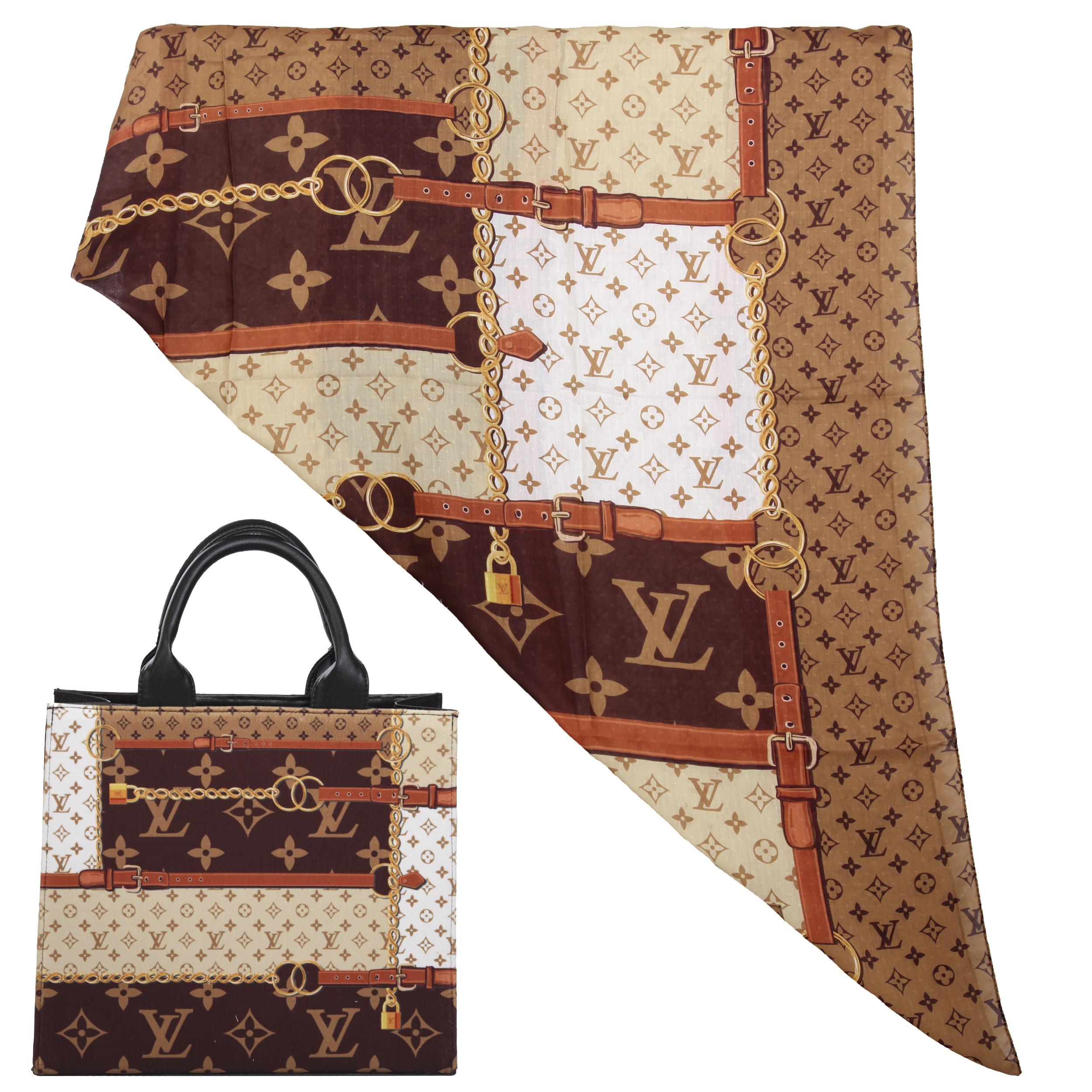 ست کیف و روسری زنانه کد T4-980711