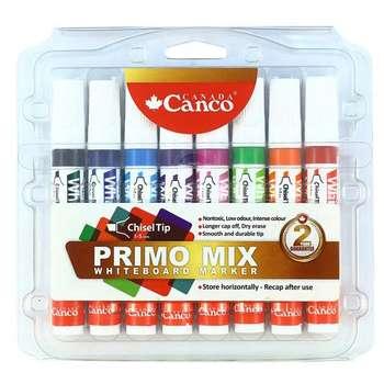 ماژیک وایت برد کنکو مدل Primo Mix کد 140960 بسته 8 عددی
