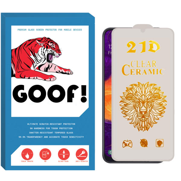 محافظ صفحه نمایش سرامیکی گوف مدل CER-CL مناسب برای گوشی موبایل سامسونگ Galaxy A31