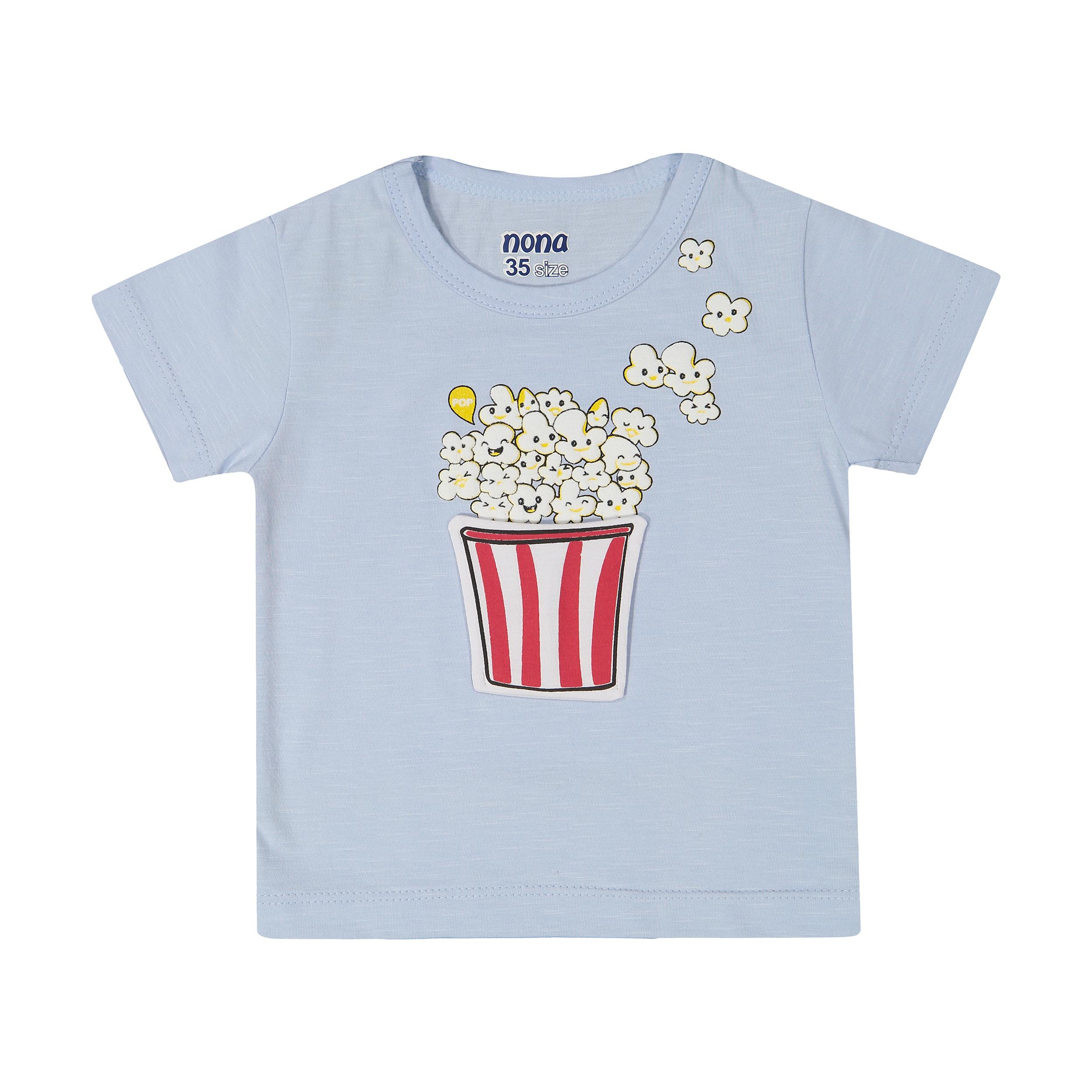 تی شرت پسرانه نونا مدل 2211116-51