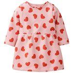 پیراهن دخترانه لوپیلو کد lusbp103