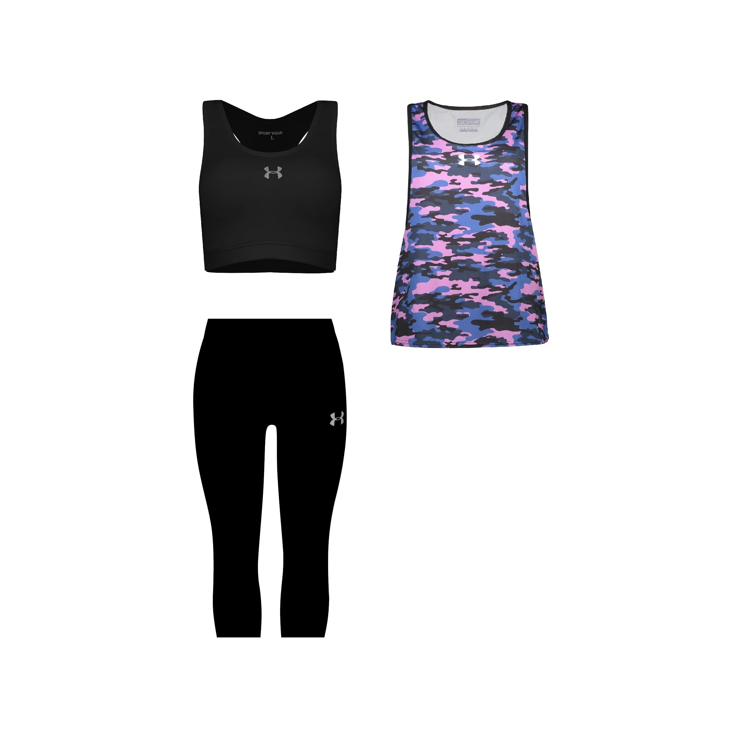 ست 3 تکه لباس ورزشی زنانه کد 580104