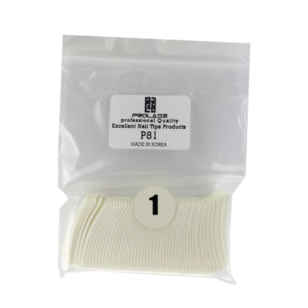 تیپ کاشت ناخن پرولایز  شماره 1 - p81 بسته 50 عددی
