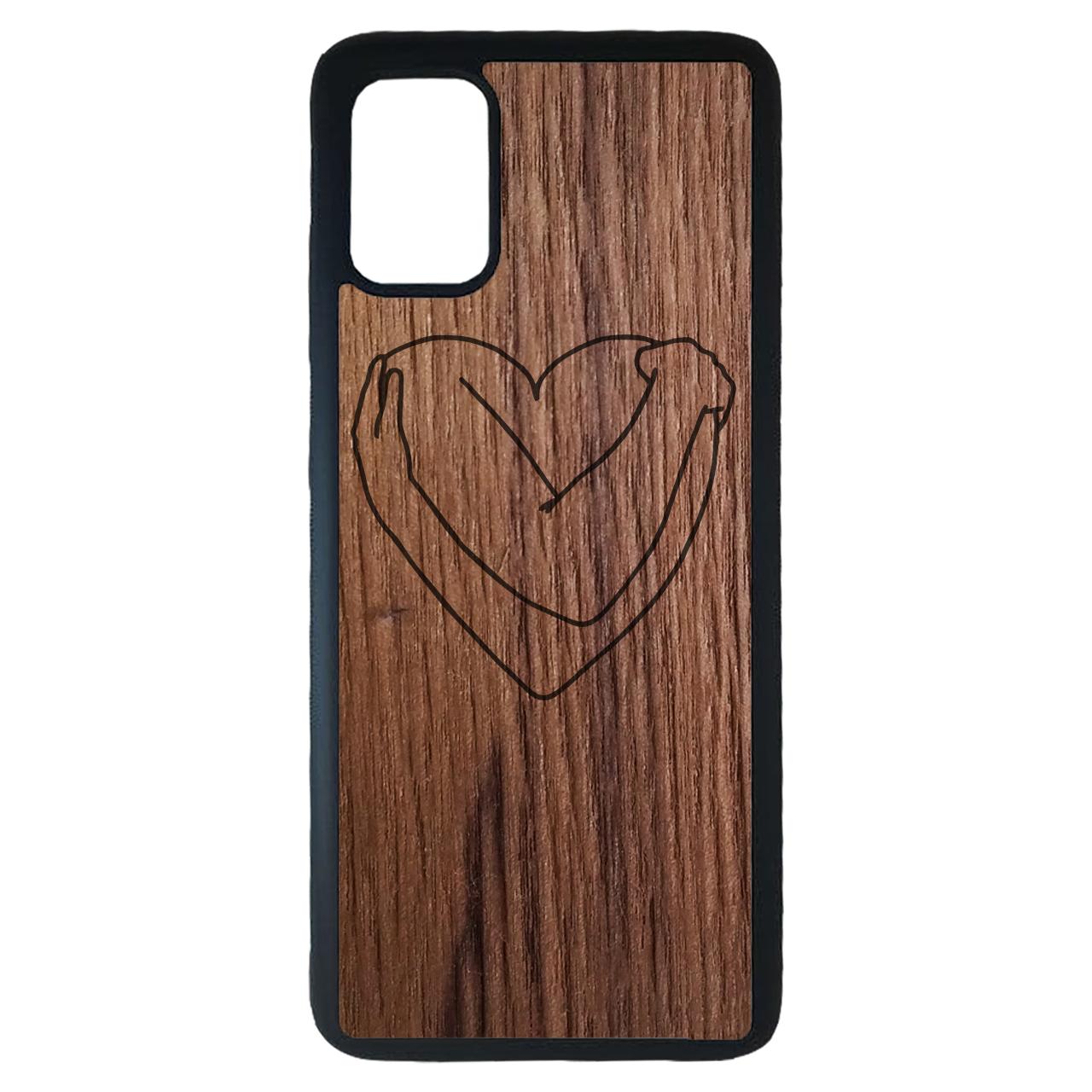 کاور مدل قلب مناسب برای گوشی موبایل سامسونگ Galaxy A31