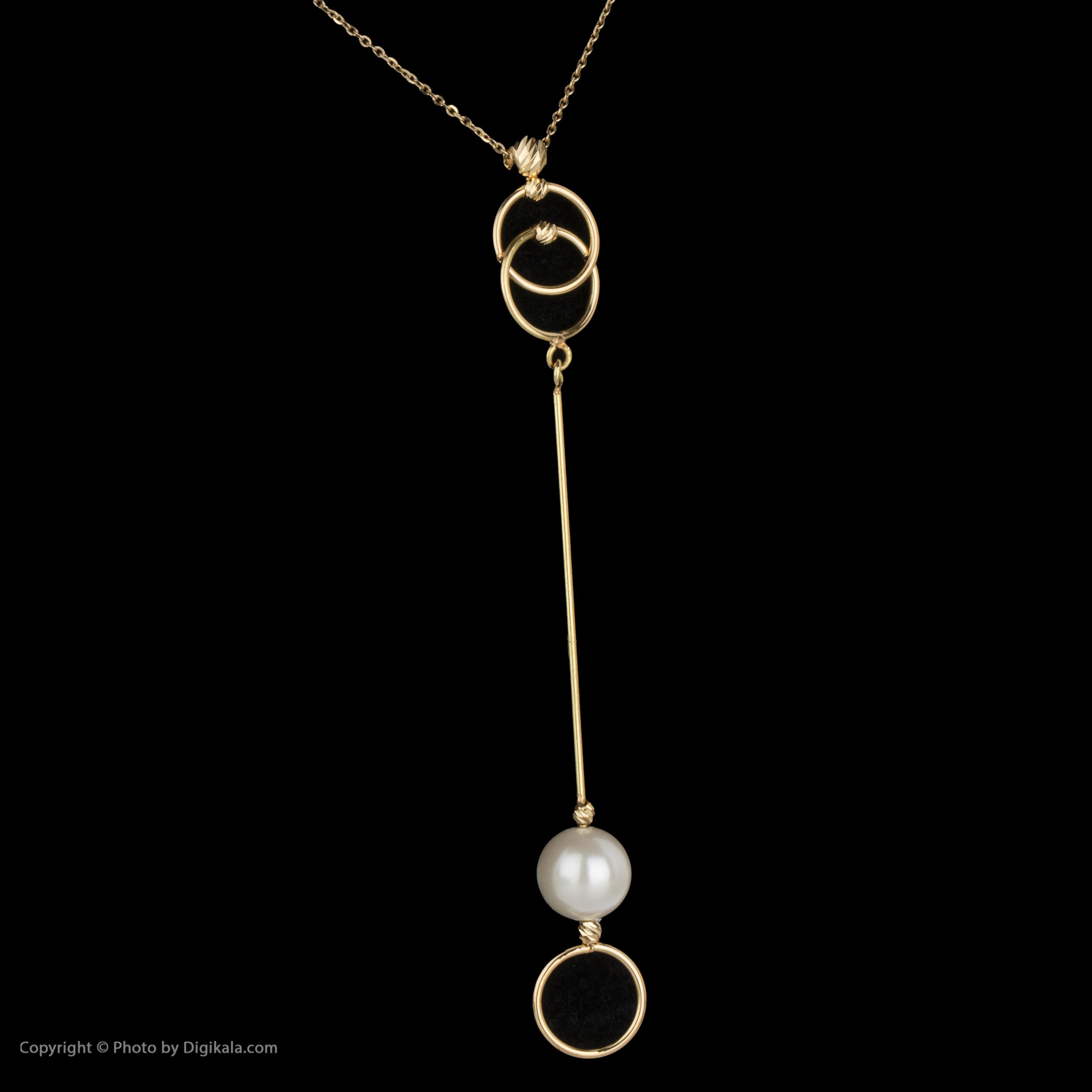 گردنبند طلا 18 عیار زنانه سیودو مدل 147025 -  - 4