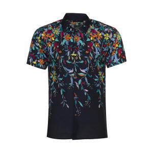 پیراهن آستین کوتاه مردانه مدل هاوایی کد H-G01