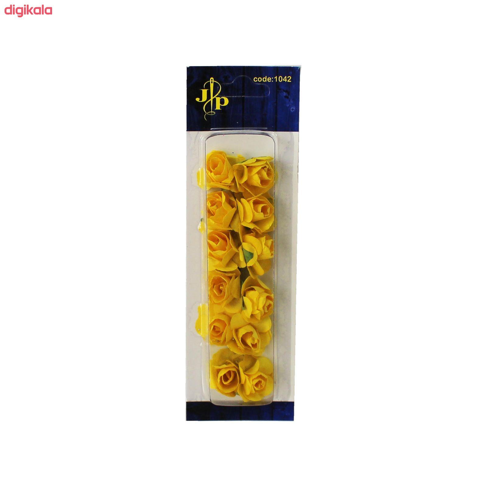 گل مصنوعی مدل رز کد 33-01 بسته 12 عددی main 1 11