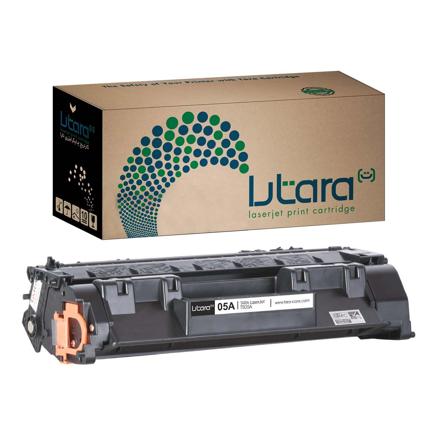 قیمت                      تونر مشکی کارتریج چاپگر لیزری تارا مدل 05A