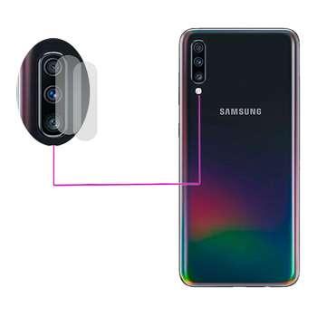 محافظ لنز دوربین مدل LTP مناسب برای گوشی موبایل سامسونگ Galaxy A70 بسته دو عددی