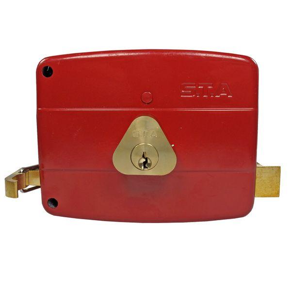 قفل حیاطی اس تی ای مدل 106-12