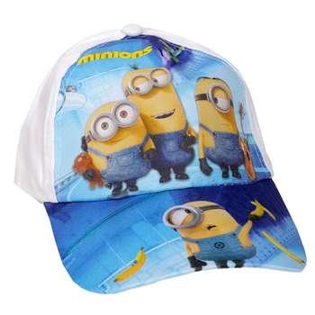 کلاه کپ پسرانه طرح مینیون مدل zx