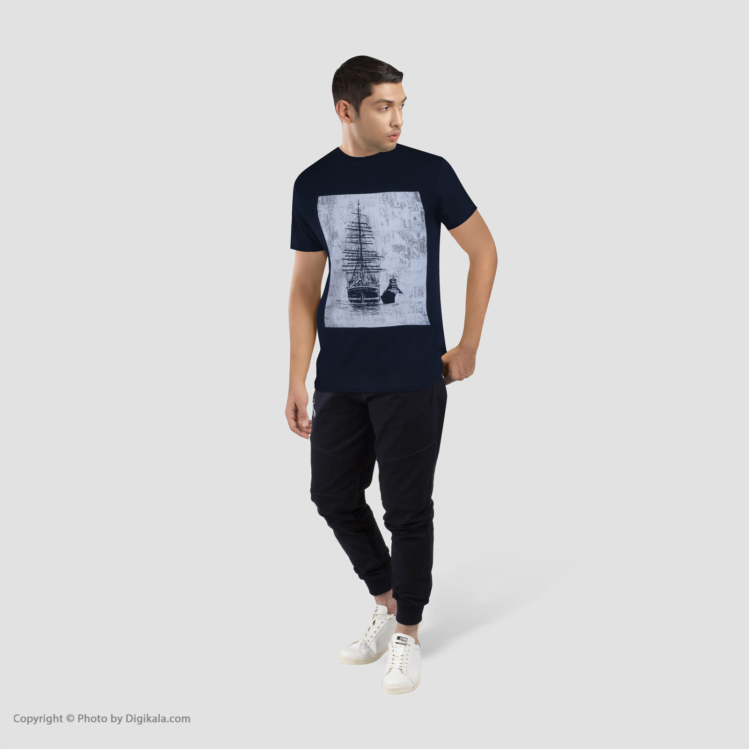 تیشرت مردانه جامه پوش آرا مدل 4011019355-59 -  - 9