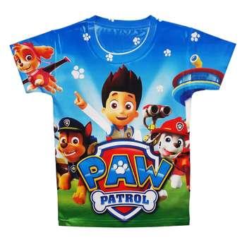 تی شرت پسرانه طرح سگ های نگهبان کد S40
