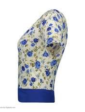 ست تی شرت و شلوارک زنانه کد 003 -  - 5