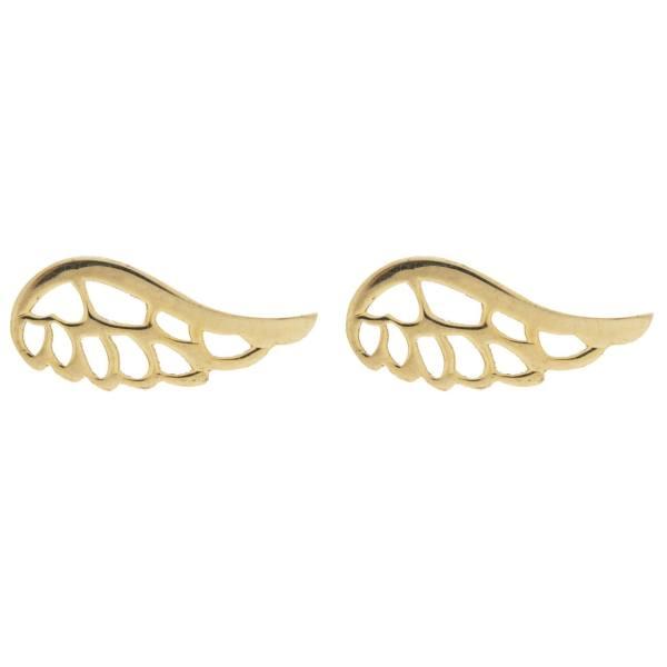 گوشواره طلا 18 عیار زنانه کانیار گالری کد GOA142