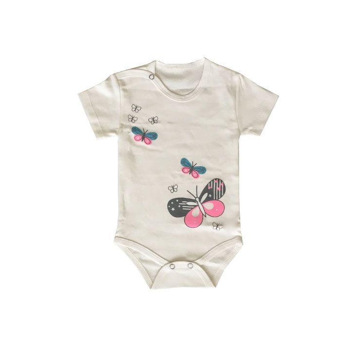 ست 3 تکه لباس نوزادی بی بی وان مدل پروانه کد 471 -  - 5