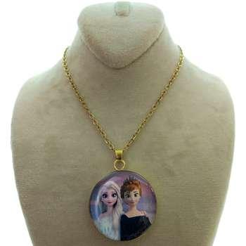 گردنبند دخترانه طرح السا و آنا کد 133