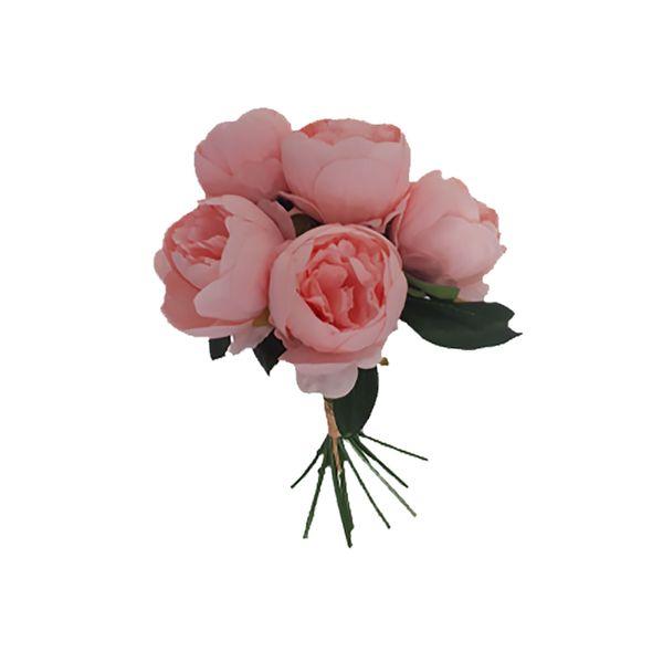 گل مصنوعی طرح پیونی کد pa0085